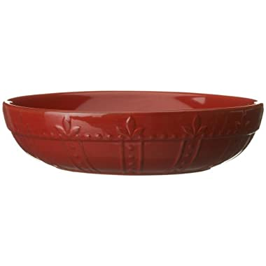 Signature Housewares Sorrento Collection Individual Pasta Bowls, Ruby Antiqued Finish, Set of 4