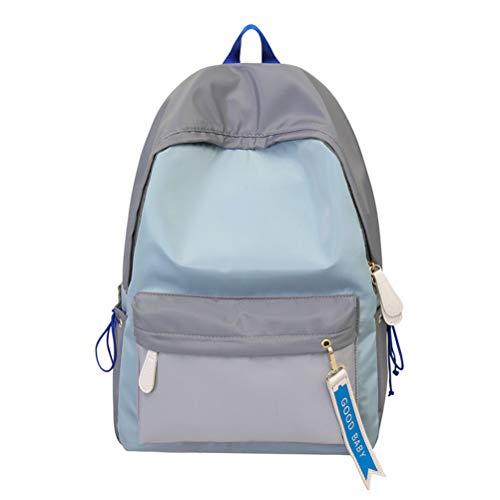 Women Lady con Wind College Nylon Baitie Insegnamento Vhvcx Bag Shoulder Campus Studenti Pure Backpack qRBg6B