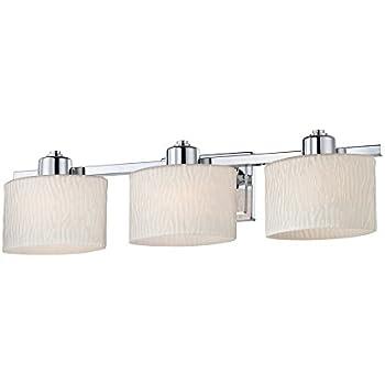 allen + roth 3-Light Grayson Polished Chrome Bathroom ...
