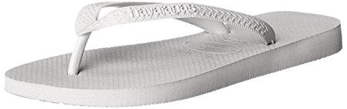 Havaianas Men's Top  Sandal,White,41/42 BR (9/10 M - Havianas Brazil
