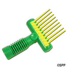 Aqua Comb Spa Filter Cleaner Tool: Filter Comb for Hot Tub Filter Cleaning - Made In USA - No Leaks by Aqua Comb