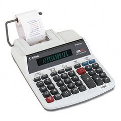 P160DH 2-Color Roller Printing Calculator, 12-Digit Fluorescent Display CAN0719B002 by Canon