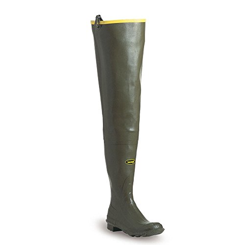 LaCrosse Men's Big Chief 32 Green 600G Wader Boots, 14-Medium For Sale