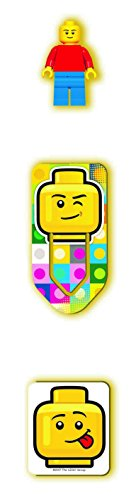LEGO Classic 8 Piece Journal Stationery Set - Journal, Pencils, Erasers, Minifigure and More by LEGO (Image #3)