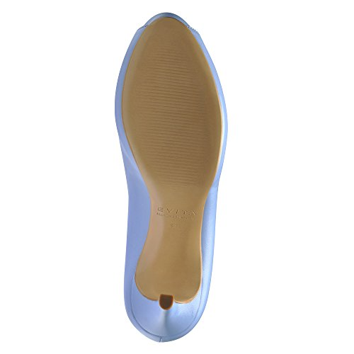Evita Shoes - Zapatos de vestir de Piel para mujer Azul - azul claro