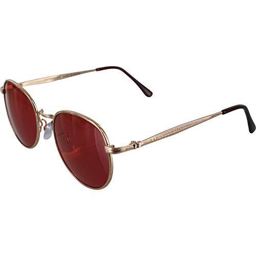 Happy Hour Skateboards Tony Hawk Holidaze Gold/Red Sunglasses