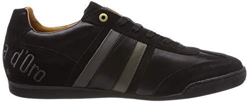 Uomo Basses Low Imola Noir black 25y D'oro Sneakers Pantofola Homme OFEqUwT