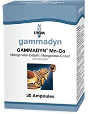 UNDA - GAMMADYN Mn-Co - Manganese-Cobalt Oligo-Element Supplement - 30 Ampoules