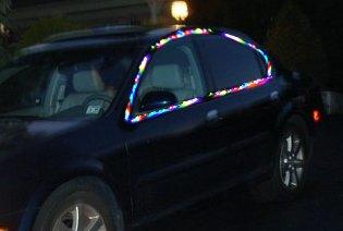 Use Anywhere Set Of Portable Christmas Lights