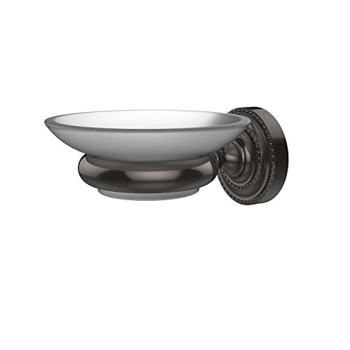 Allied Brass DT-62-ORB Dottingham Collection Wall Mounted Soap Dish, Oil Rubbed Bronze