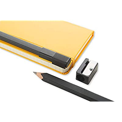 Moleskine Classic Wood Pencil Set w/ Sharpener, 2B Lead : Art Pencil Sets : Office Products