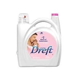(2 Bottles) of Dreft Liquid 2x Concentrated Laundry Detergent- 150 fl oz - 96 Loads