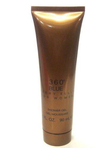 PERRY ELLIS 360 BLUE by Perry Ellis SHOWER GEL 3 oz for Women
