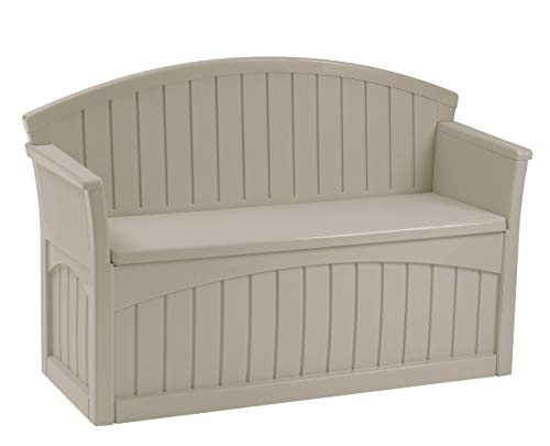 (Suncast PB6700 Patio Bench, Light)