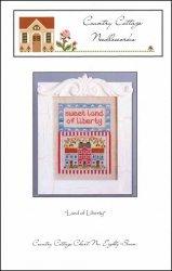 - Land of The Liberty (CCN) Cross Stitch Chart and Free Embellishment