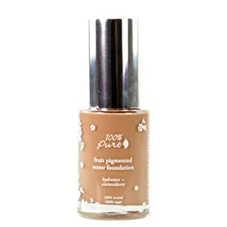 Organic Sheer Foundation, 100% Pure Water Foundation, Golden Peach