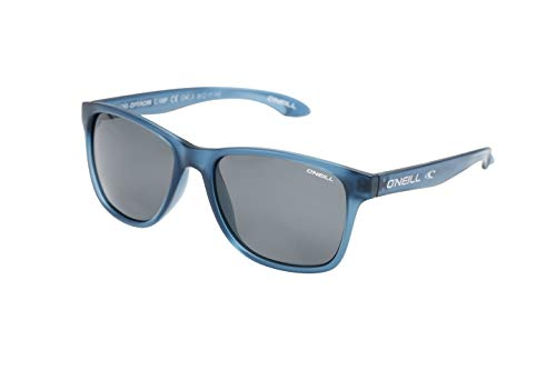 O'Neill Offshore Polarized Square Sunglasses, Matte Navy Crystal, 55 mm