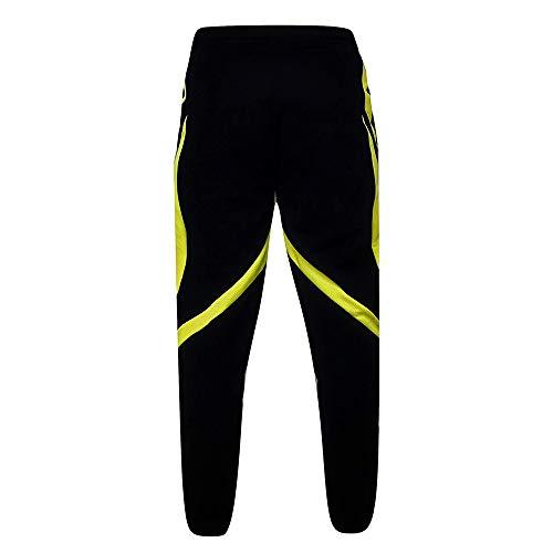 GREFER Fashion Men's Shorts Sport Jogging Fitness Pant Casual Loose Sweatpants Drawstring Pant (M, Yellow-2) (Anglers String)