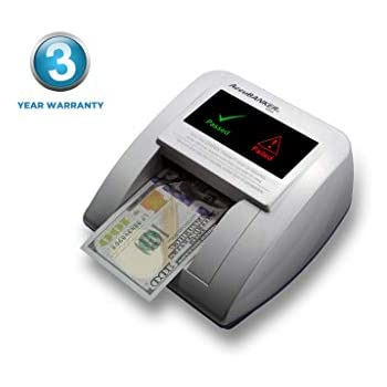 AccuBANKER D470 Quadscan 4-Way Orientation Counterfeit Detector with UV, MG, IR, WM, Image, Length, Spectrum Counterfeit Detection Methods - Optional ...