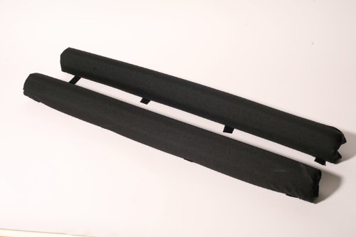 Vitamin Blue 36'' Roof Rack Pads Black - Non Logo (MADE in U.S.A.) REGULAR PADS by Vitamin Blue