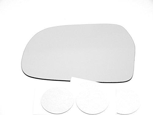 Fits 99-04 Chevy Tracker, Sz Vitara Left Driver Mirror Glass Lens w/Adhesive USA