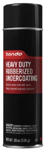 Bondo 3M 737 18 oz HD Aerosol Rubberized Undercoating Spray - Quantity 10 cans