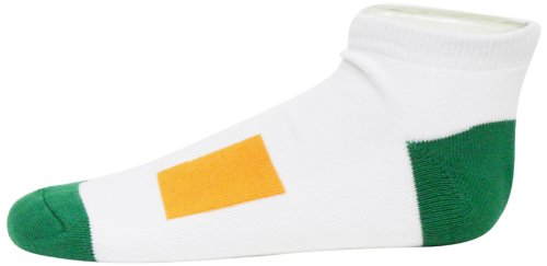 Ireland No Show Footie Socks, - Ireland Bay Socks White Donegal
