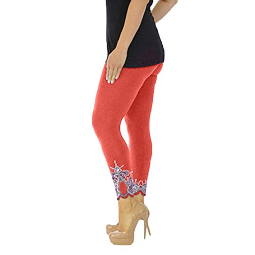 DICPOLIA  Womens-Leggings-Running-Yoga-High-Waisted-Tummy-Control-Athletic-Workout-Compression-Pants Orange