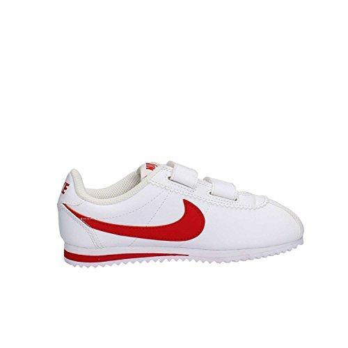 Nike, Zapatos de Primeros Pasos para Bebés, Blanco (White / University Red), 30 2/3 EU