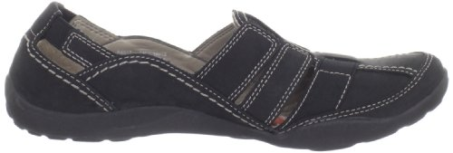 Negro Haley la Stork Clarks Negro loafer mujer de 6q0nPOv