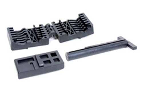 ProMag AR-15/M16 Upper and Lower Receiver Magazine Well-Vise Block Set, Black, Outdoor Stuffs