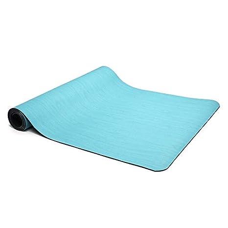LENGKANG-EU Yoga Plegable Caucho Natural Mat Estera ...