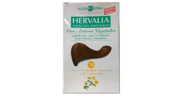 2 x HERVALIA Nº 70 rubio tinte sin amoniaco: Amazon.es: Belleza