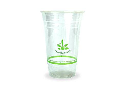 Emerald Brand Cold Cups (Pack of 1000), 20 oz., Clear by Emerald Brand