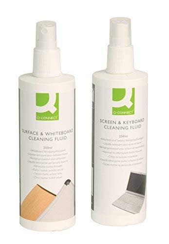 Q - Connect - Spray limpiador para pizarras, 250 ml