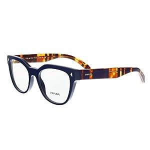 Prada PR21SV Eyeglass Frames TFM1O1-51 - Blue PR21SV-TFM1O1-51