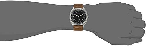Bulova Men s 96B230 Military Analog Display Japanese Quartz Brown Watch