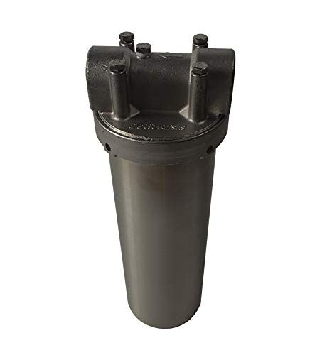 10inch Filter 3//4inch NPT INTBUYING Heavy Duty Water Filter Housing Whole House Water Purification of 304 Stainless Steel
