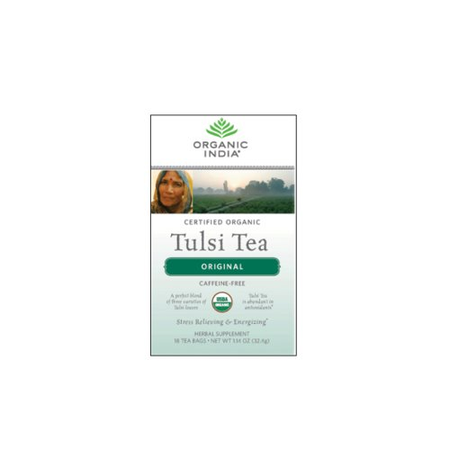 - Organic India Tulsi Tea, Original, 18 Count (Pack of 2)