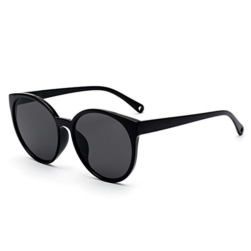 Unidos de ojo de ojo gafas tendencias Negro de de gato Europa Estados de de conducción Gafas gris y de Moda nuevas Box de UV Gafas los protección gato Black CAHzwd5xq
