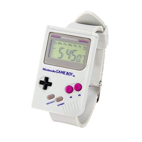 Paladone Gameboy Watch - Mini Gameboy Replica - Gamer - Kong Land Game Donkey Boy