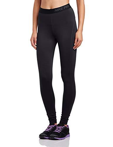 Nike Pro Winter Tight - NIKE Women's Pro Hyperwarm Tight 3.0, Black/White, XL X 29