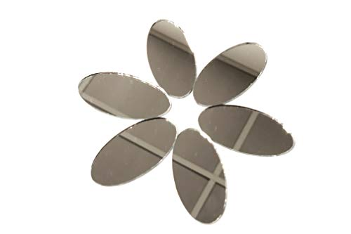 - Oval 2 inch x 1 inch, Mirror Mosaic Tile. 50 pcs …