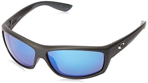 Costa del Mar Unisex-Adult Saltbreak BK 11 OBMGLP Polarized Iridium Wrap Sunglasses, Black, 64.5 - Top Costa Del Mar Sunglasses