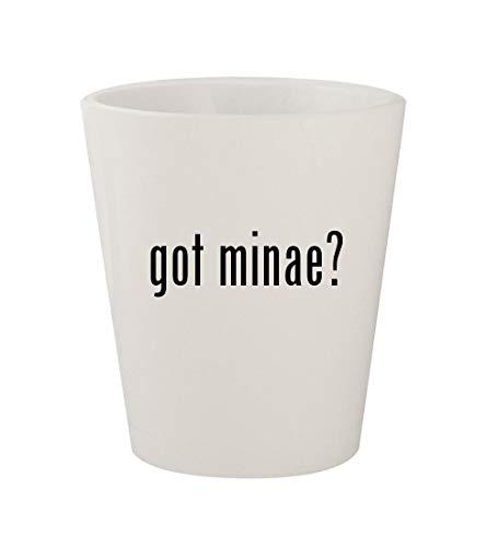 got minae? - Ceramic White 1.5oz Shot Glass