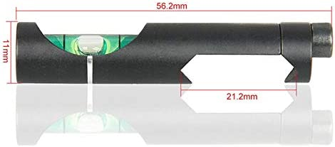 Tactical//Airgun Scope Alloy Wasserwaage Blase for 21.2mm Scope Visierschiene Weave//Picatinny auf der Jagd-Gewehr-Bereich XBF-Ebene