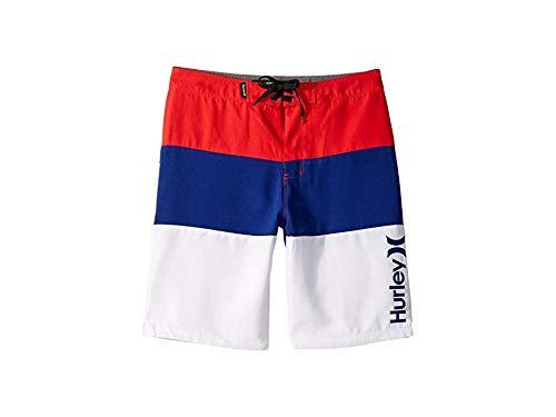 Hurley Kids Boy's Triple Threat Boardshorts (Big Kids) Speed Red 10