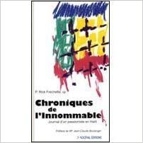 Livres gratuits Chroniques de l'Innommable : Journal d'un passioniste en Haïti epub, pdf