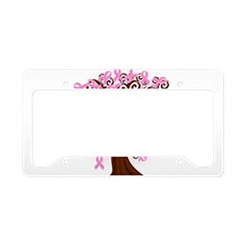 - CafePress The Tree of Life.Breast Cancer License Plate HOL Aluminum License Plate Frame, License Tag Holder