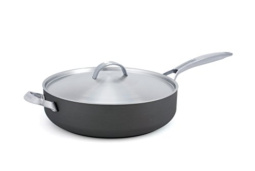 Price comparison product image GreenPan Paris 4 Quart Ceramic Non-Stick Covered Saute Pan with Helper Handle